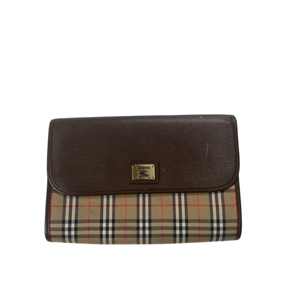 Burberry Vintage Clutch / Pouch Bag