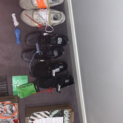 3 Pairs Of Nike X Off White Sneaker