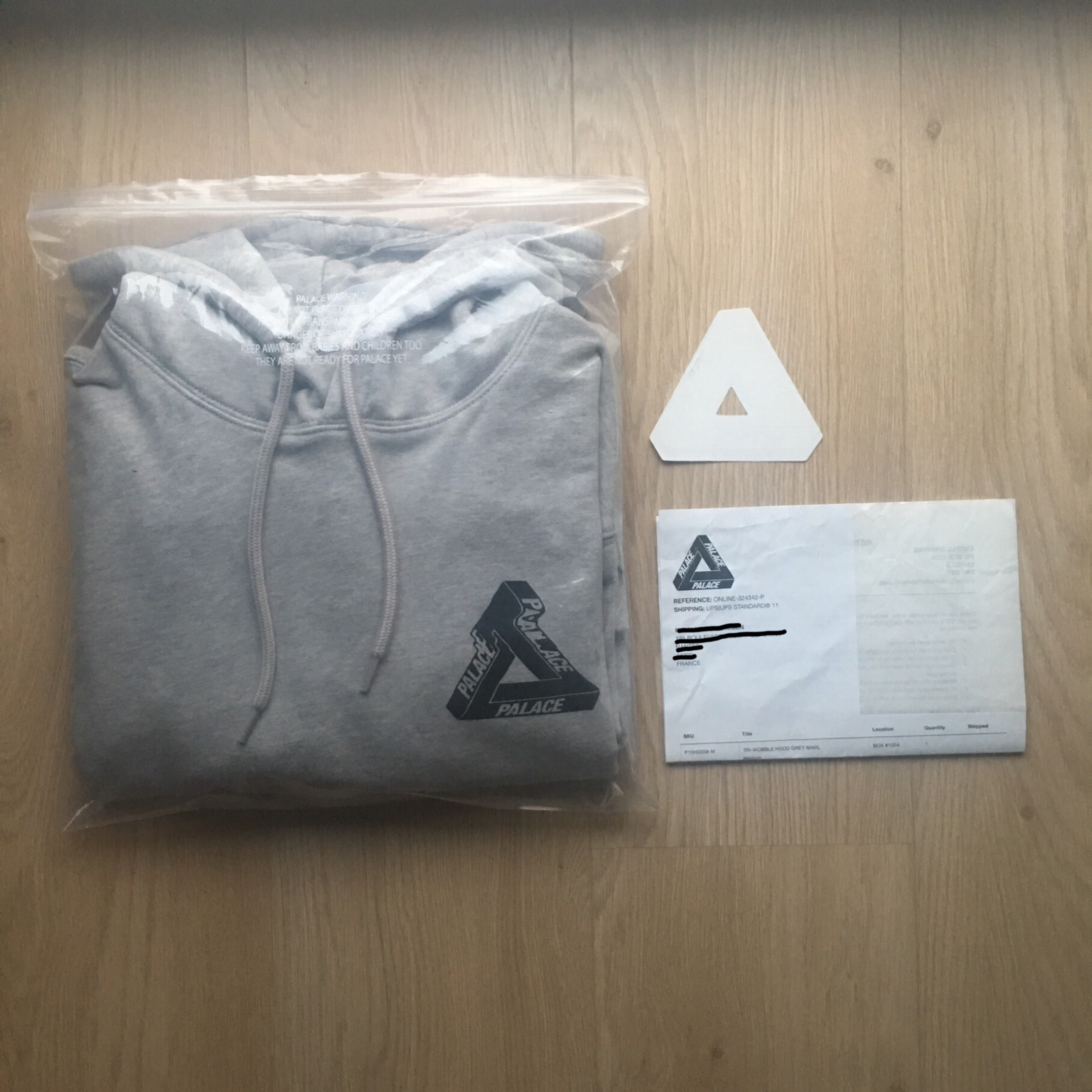 Palace Hoodie Tri Wobble *Free Shipping*