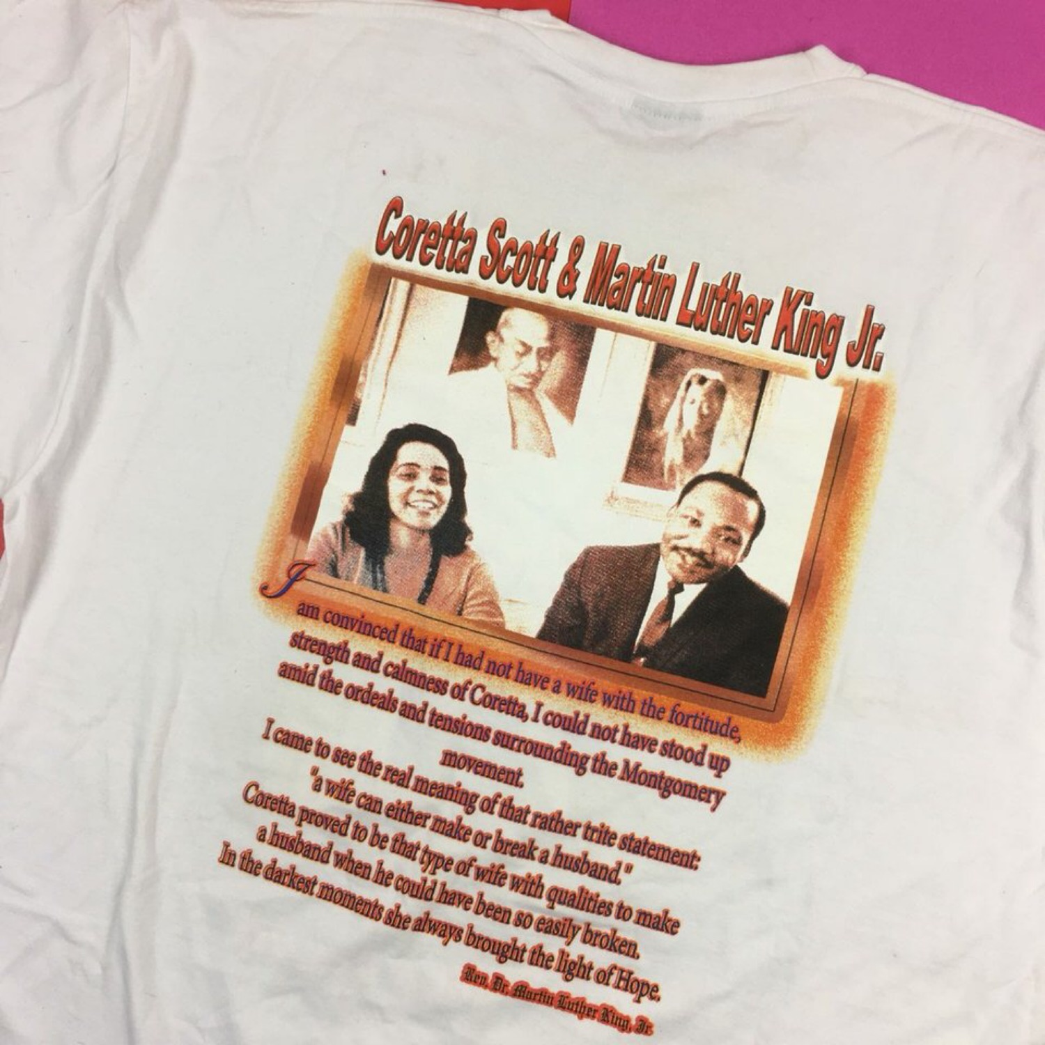 Vintage 60S Dr. Martin Luther King Jr. Tee (3Xl)