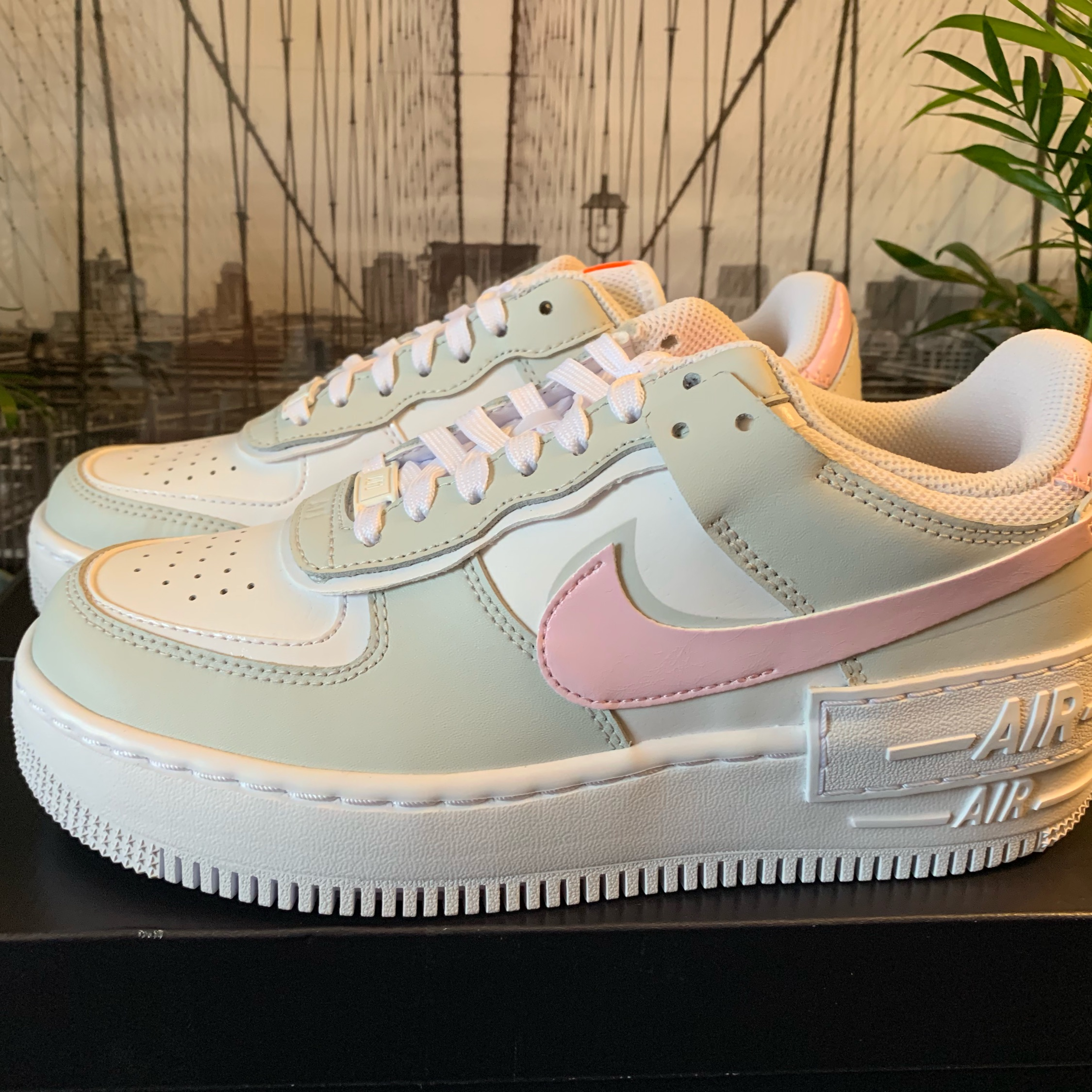 Wmns Nike Air Force 1 Shadow Pink Foam