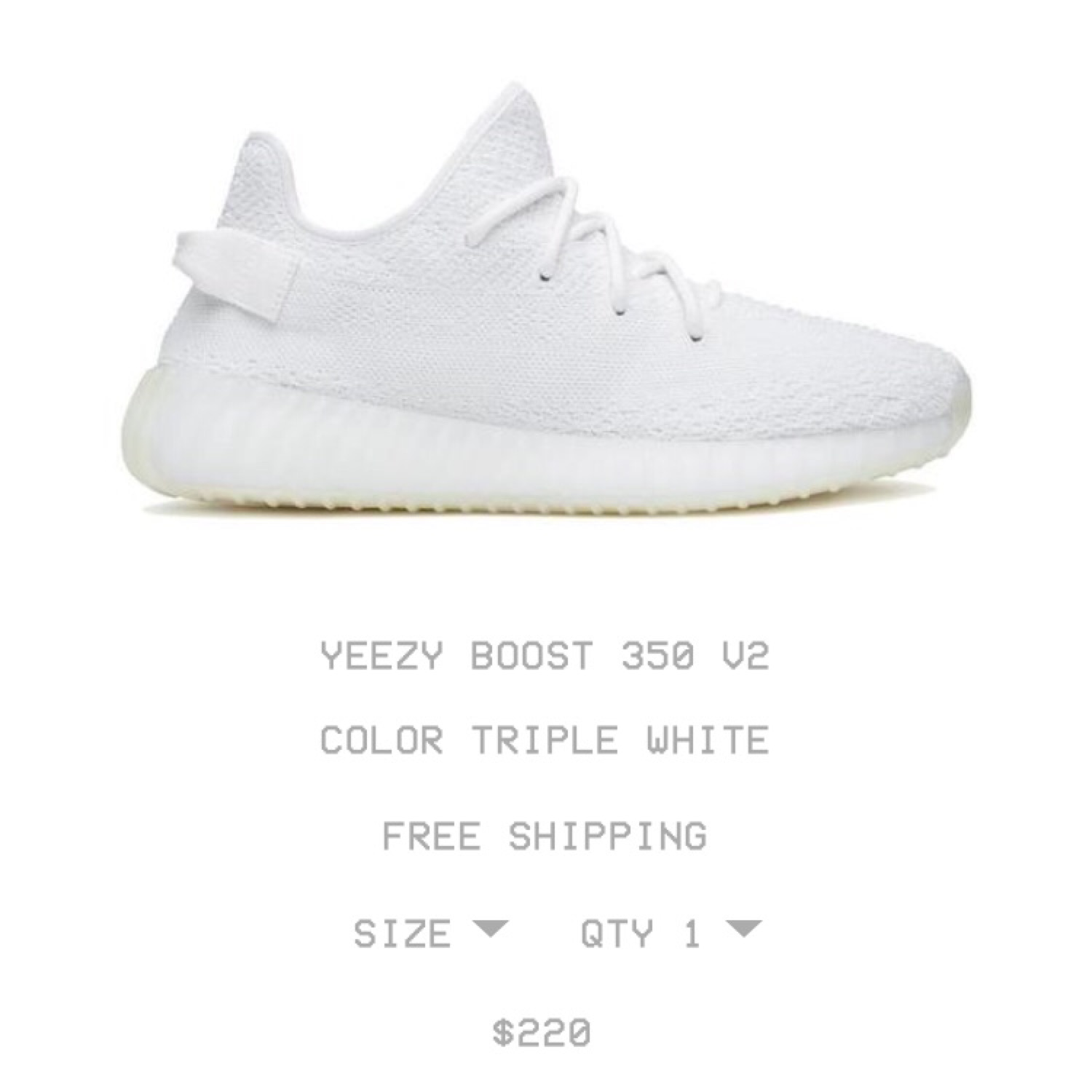 low priced 42d4d a05ca Yeezy Boost 350 Cream V2 Confirmed Order
