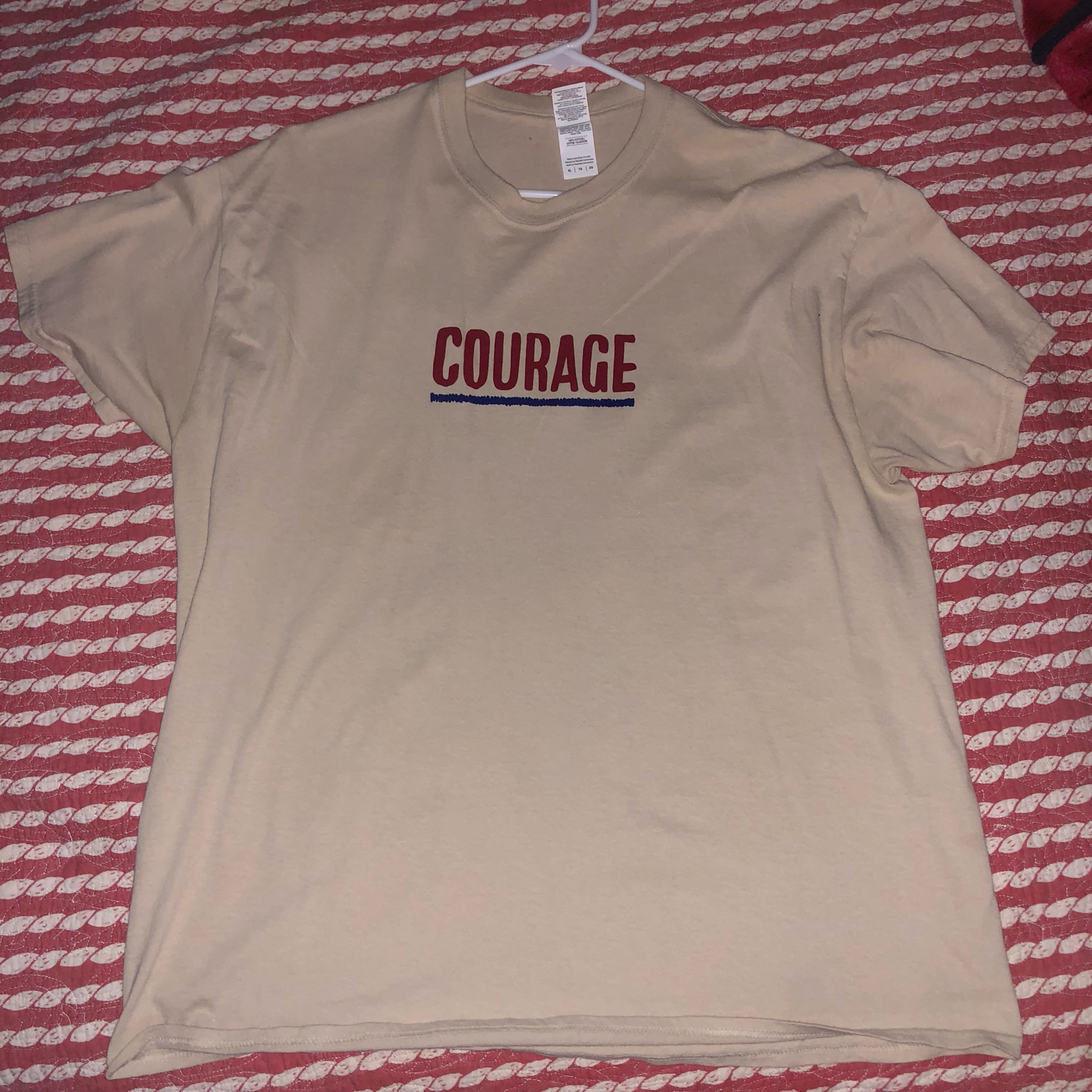 2d26b38c Chance The Rapper Courage Tee