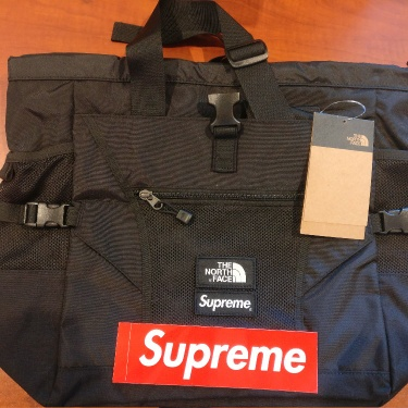 Supreme The North Face Adventure Tote Bag Black