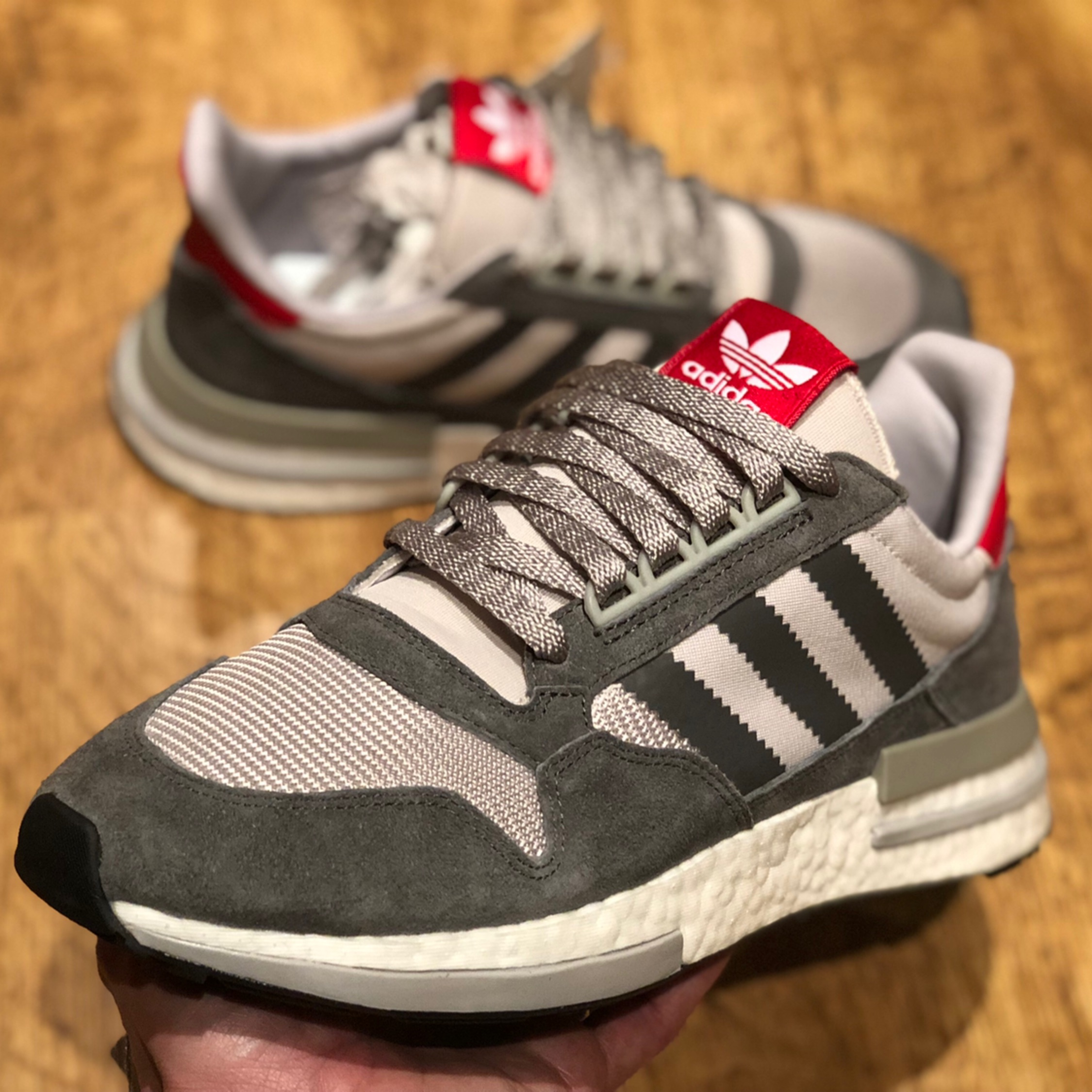 newest ef20b 1ca7e Adidas Zx 500 Rm Boost Uk 8.5 Brand New With Tags