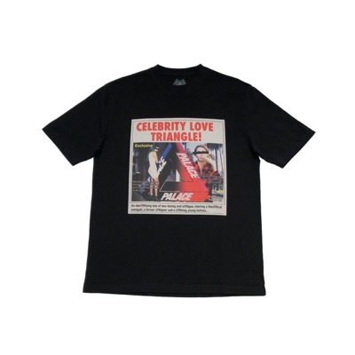 Palace Love Triangle T-Shirt Black