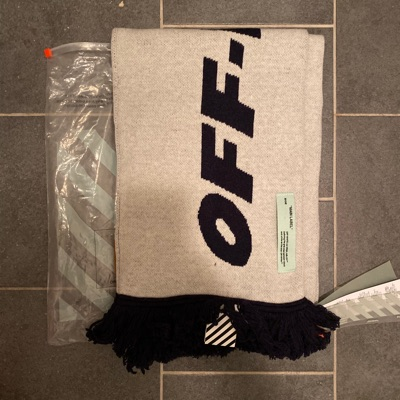 Off-White Wing Logo Scarf Schal Nwt