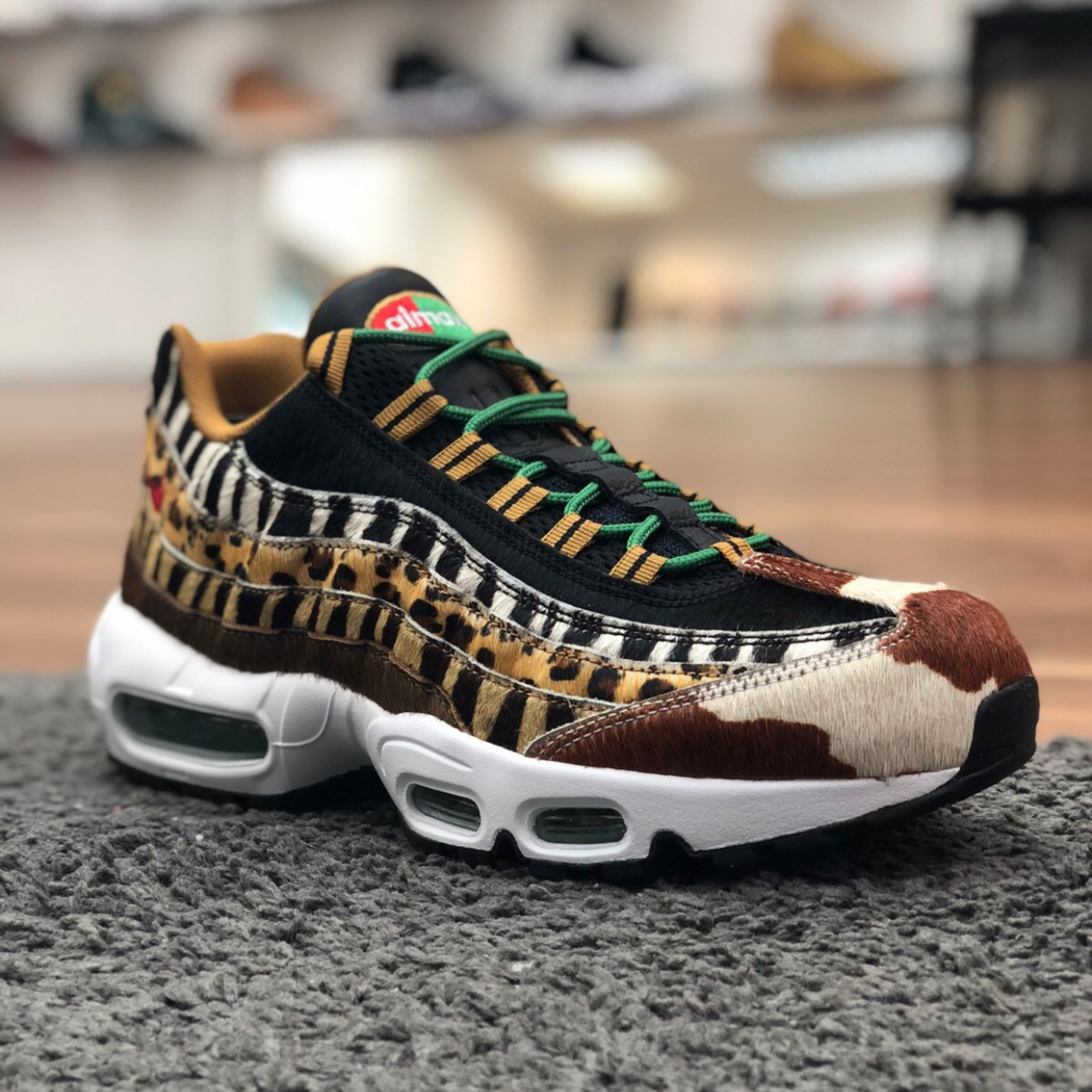 reputable site 5d110 c6d72 Atmos X Nike Air Max 95 Animal Pack 2.0