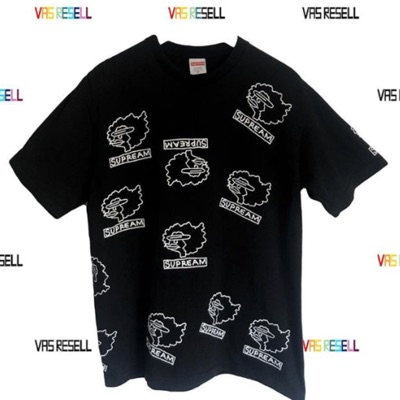 "Supreme Gonz Tee T-Shirt ""Supream"" Black Medium"