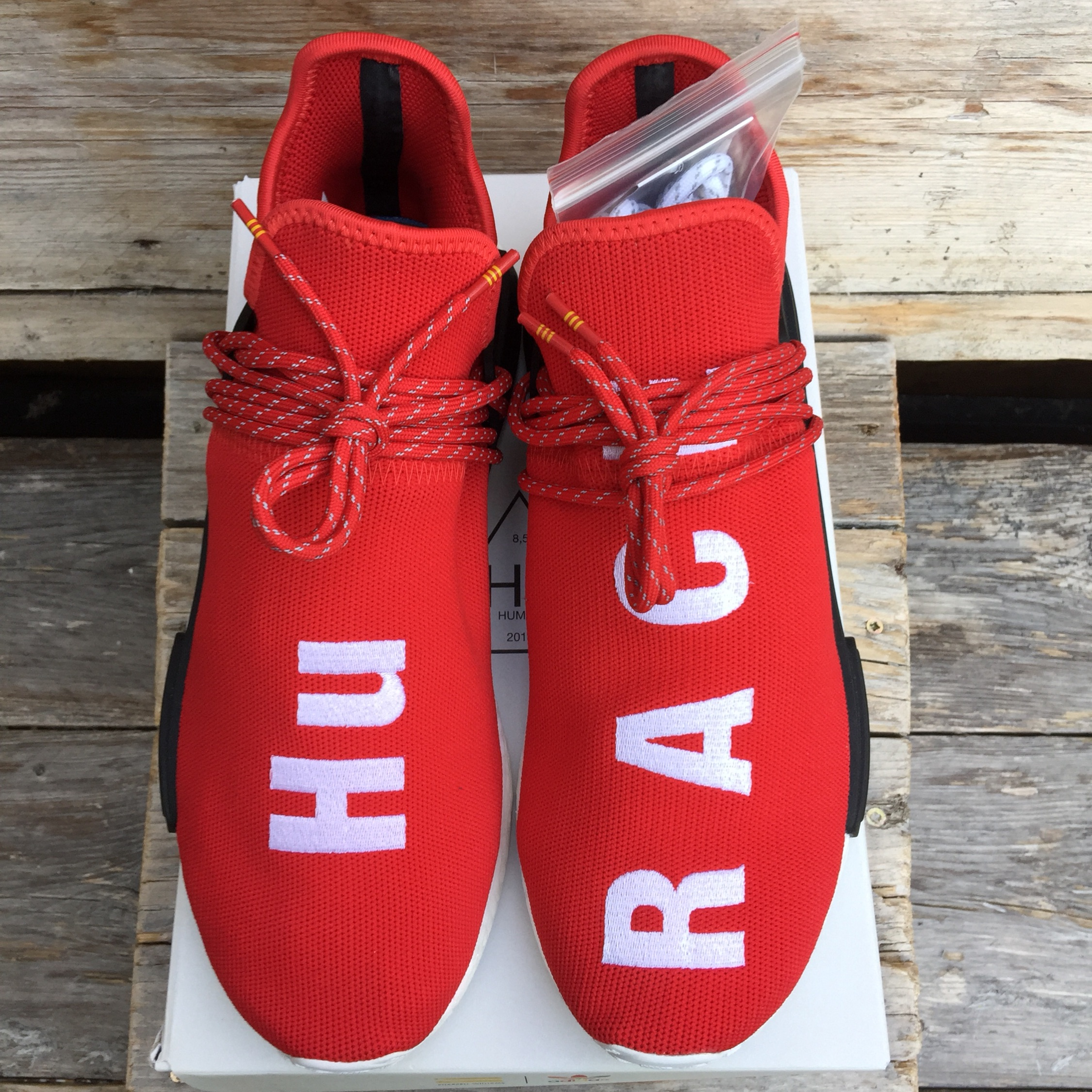 super popular 06a20 a2780 Adidas Pharrell Human Race Nmd Red