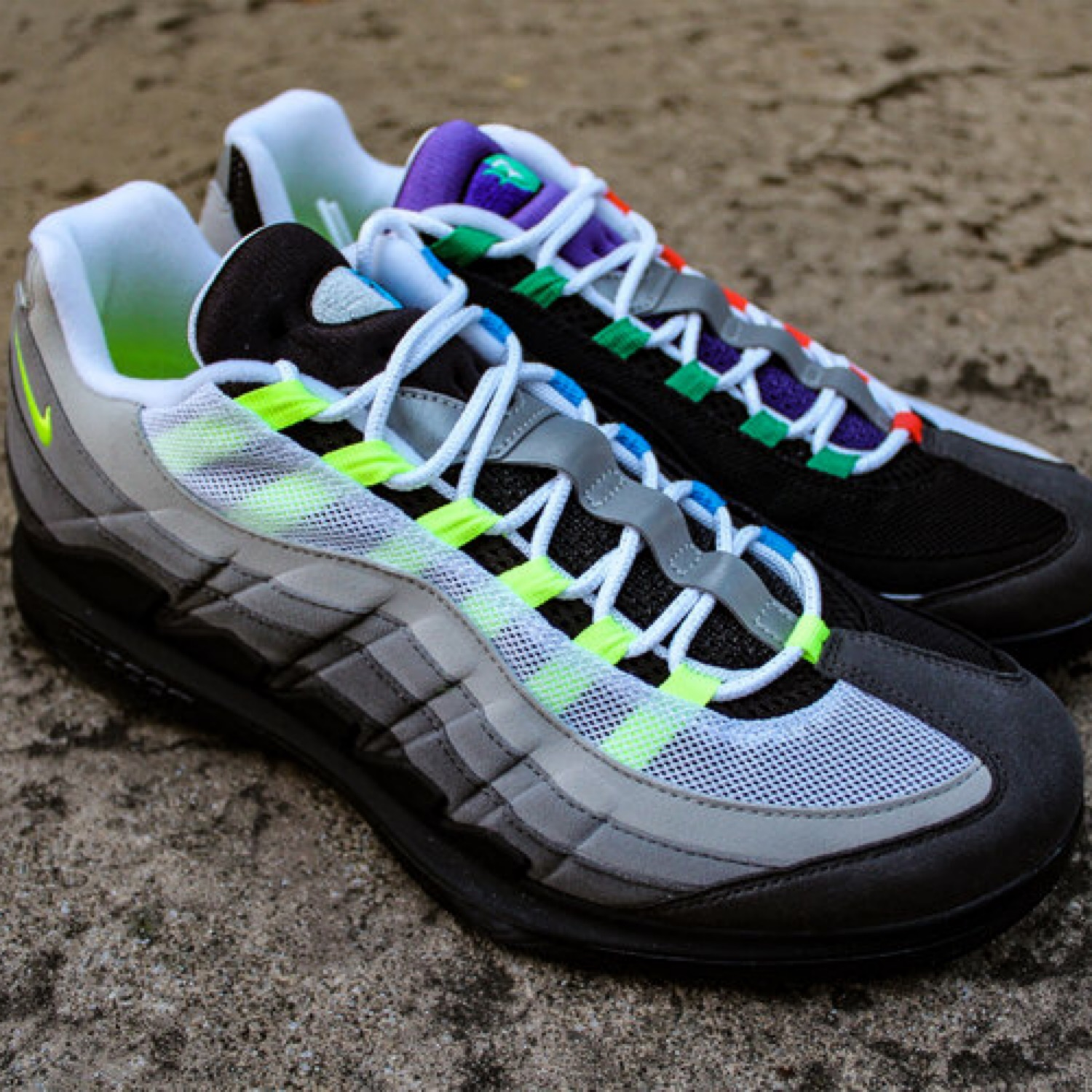 buy popular ec418 894f3 Nikecourt Vaport Rf X Air Max 95 Greedy