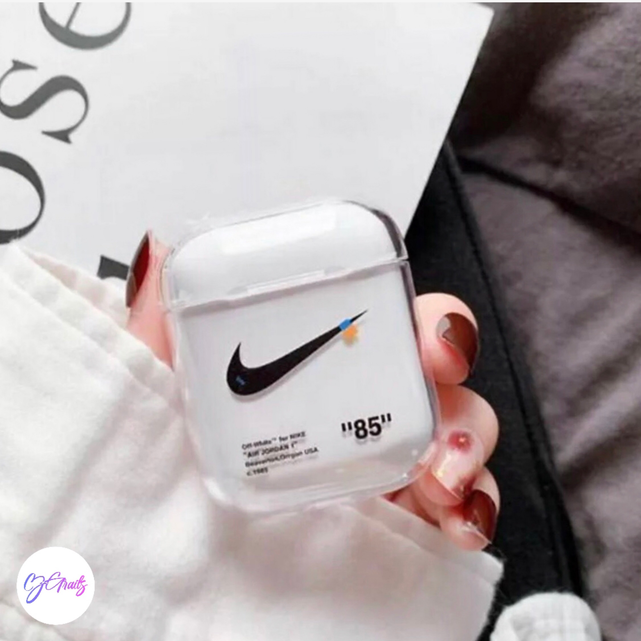 Off White X Nike Airpod Case
