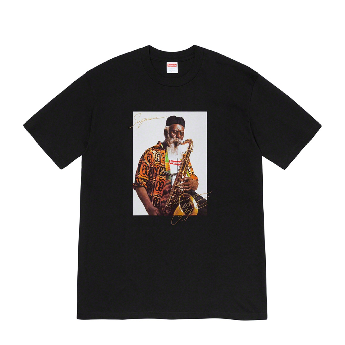 Supreme Pharoah Sanders Tee Black
