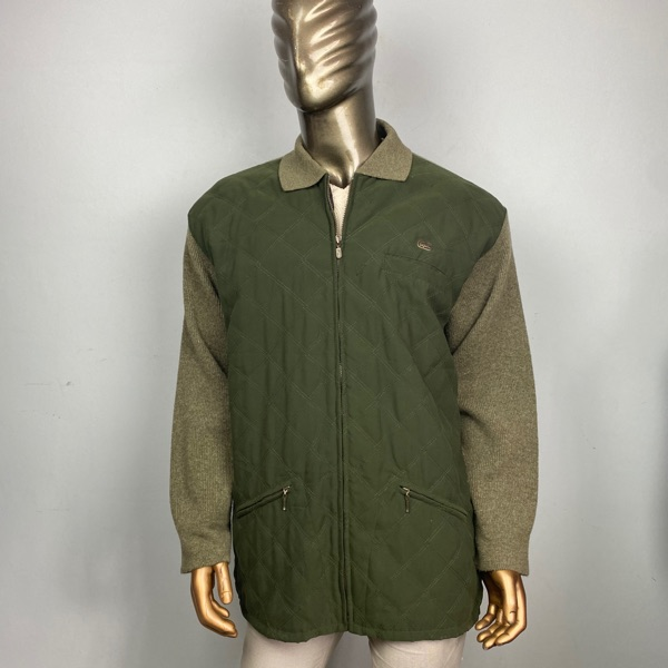 Lacoste Quilted Light Jacket Full Zip Sweater