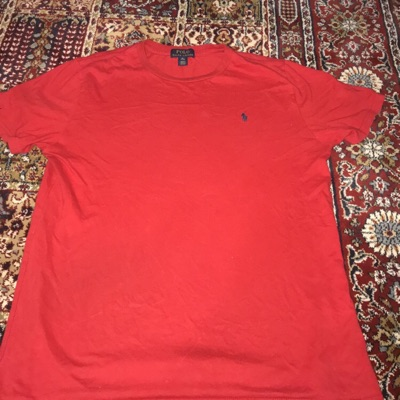 Red And Orange Polo Ralph Lauren Short Sleeve Tees