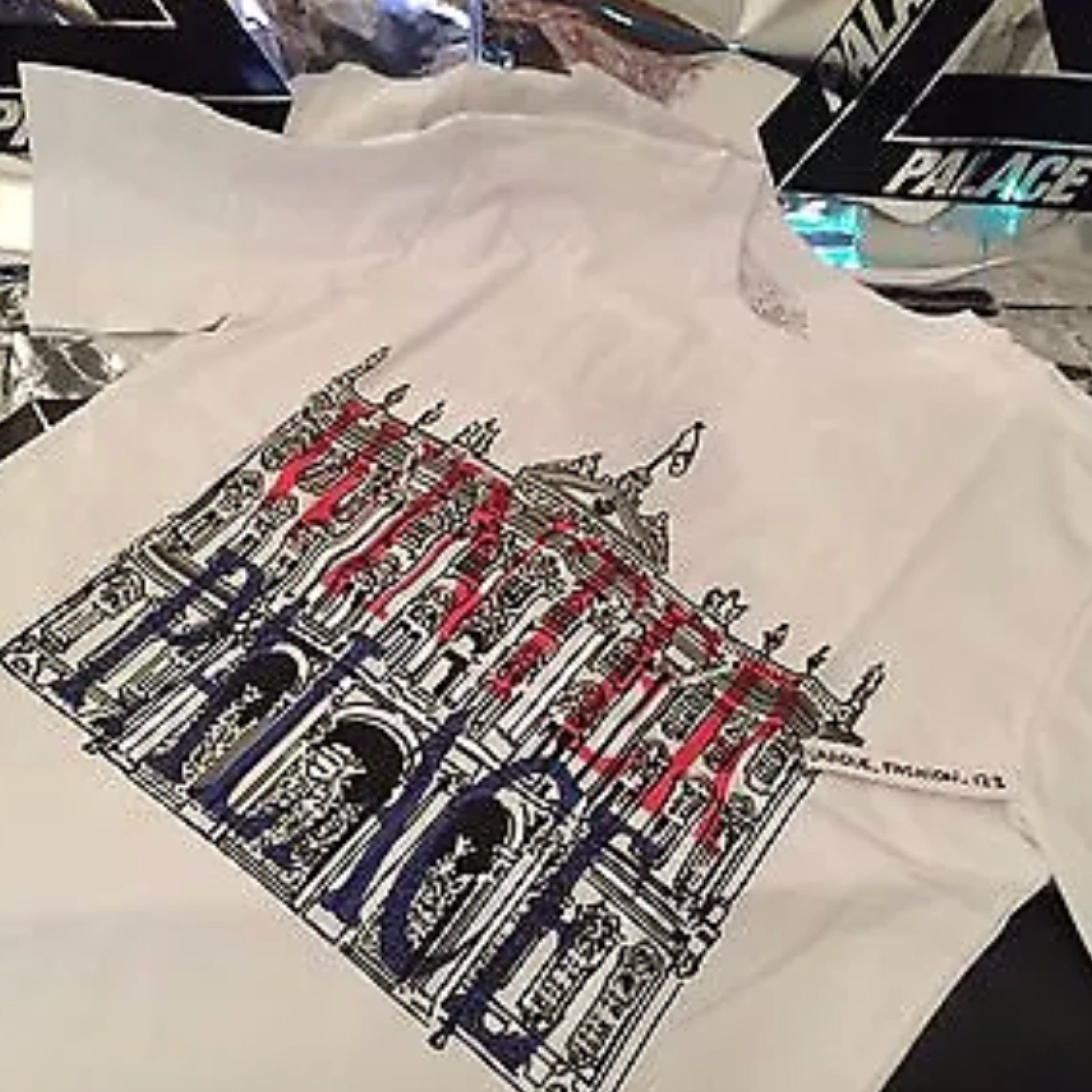 Palace Winter T Shirt New White Xl