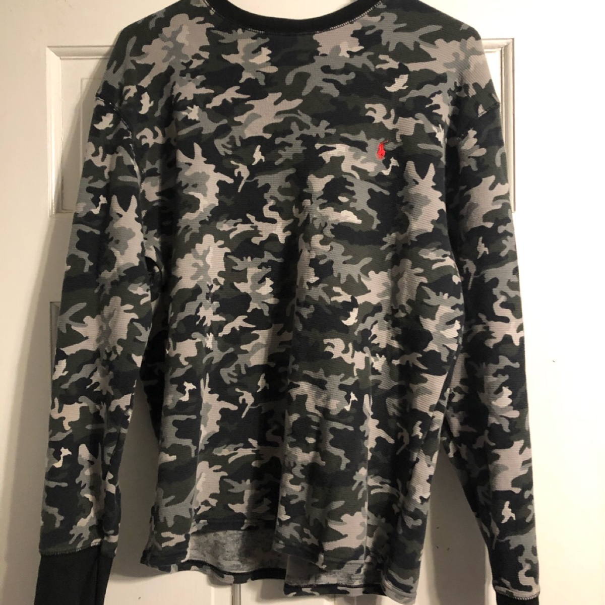 Ralph Lauren Camo Thermal Shirt