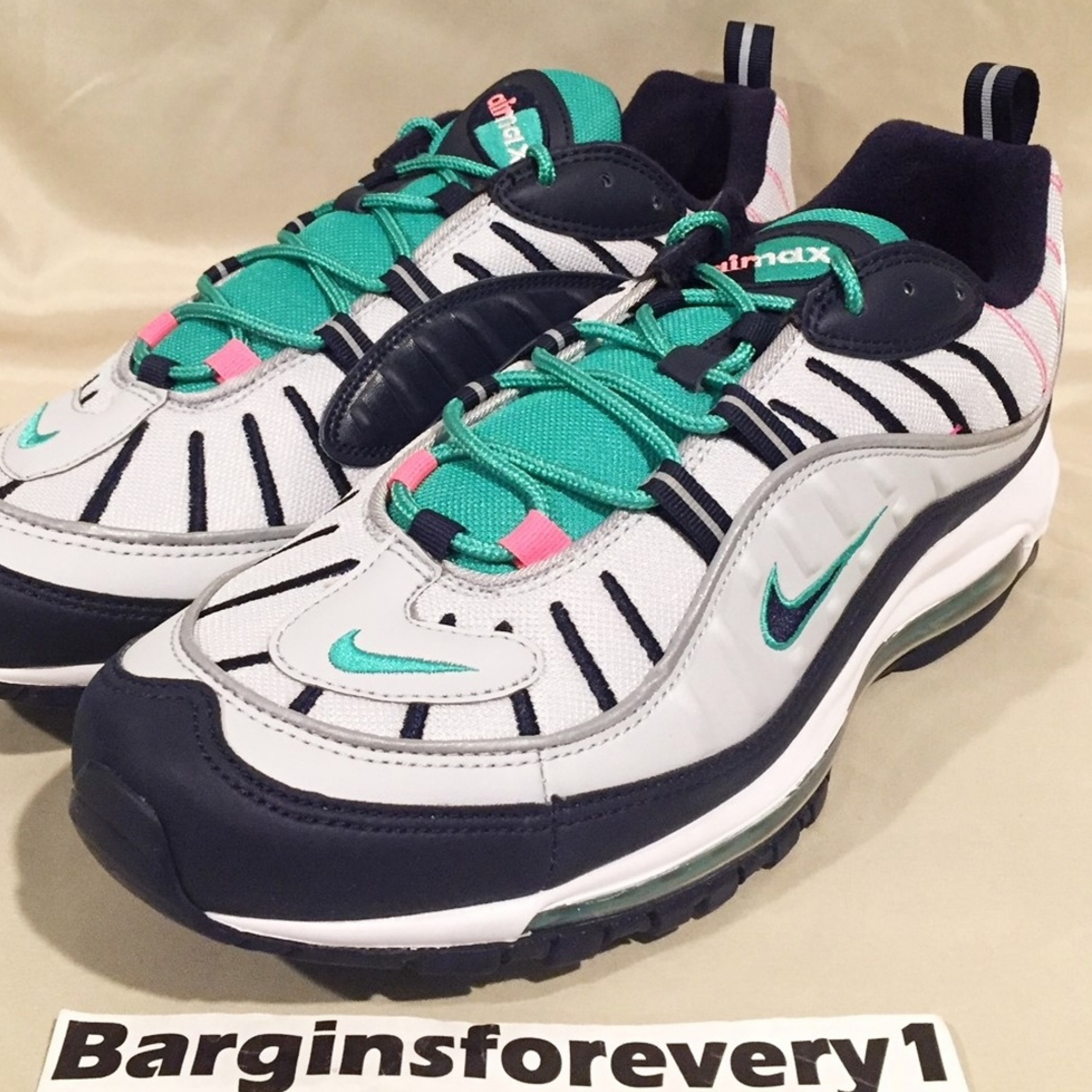 low cost detailed pictures super quality Nike Air Max 98