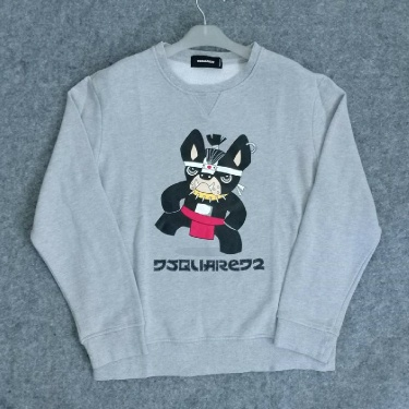 CREWNECK DSQUARED2 BULLDOG SUMO