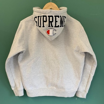 Supreme Champion Arc Logo Grey Hoodie