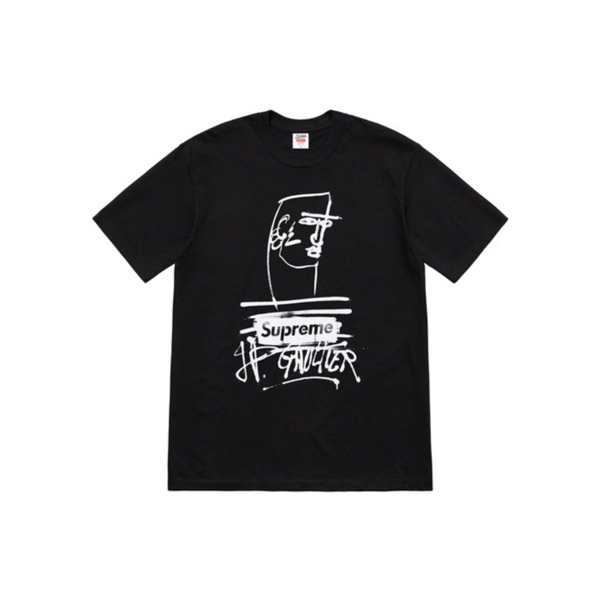 Supreme/Jean Paul Gaultier Tee - Black