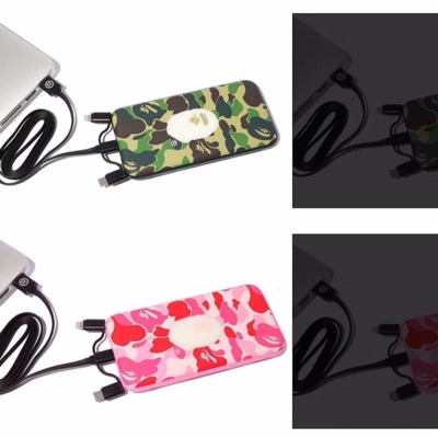 Abc Camo Bape Powerbank( Green Colour)