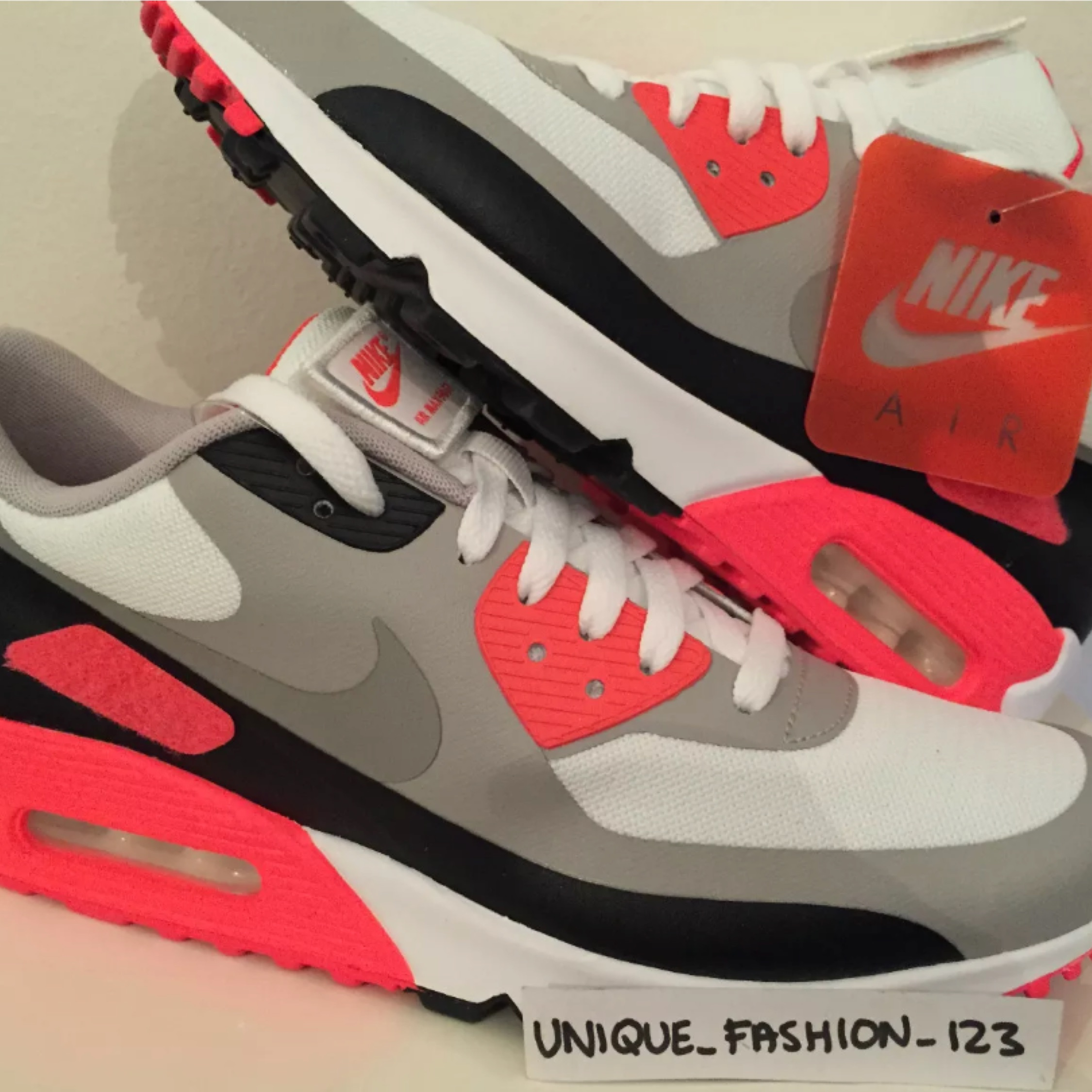 White Infrared Shoelaces | Nike air max, New nike shoes, Nike