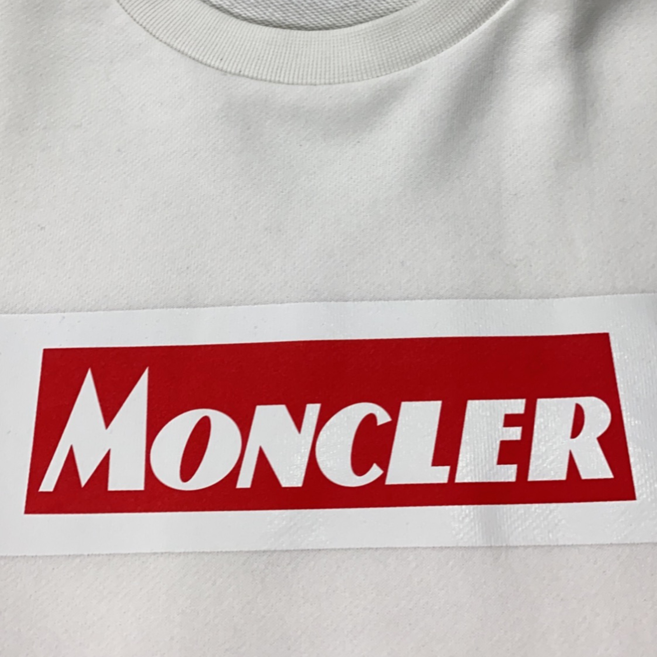 Moncler White Jumper