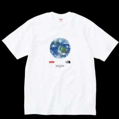 Supreme X The North Face One World Tee White