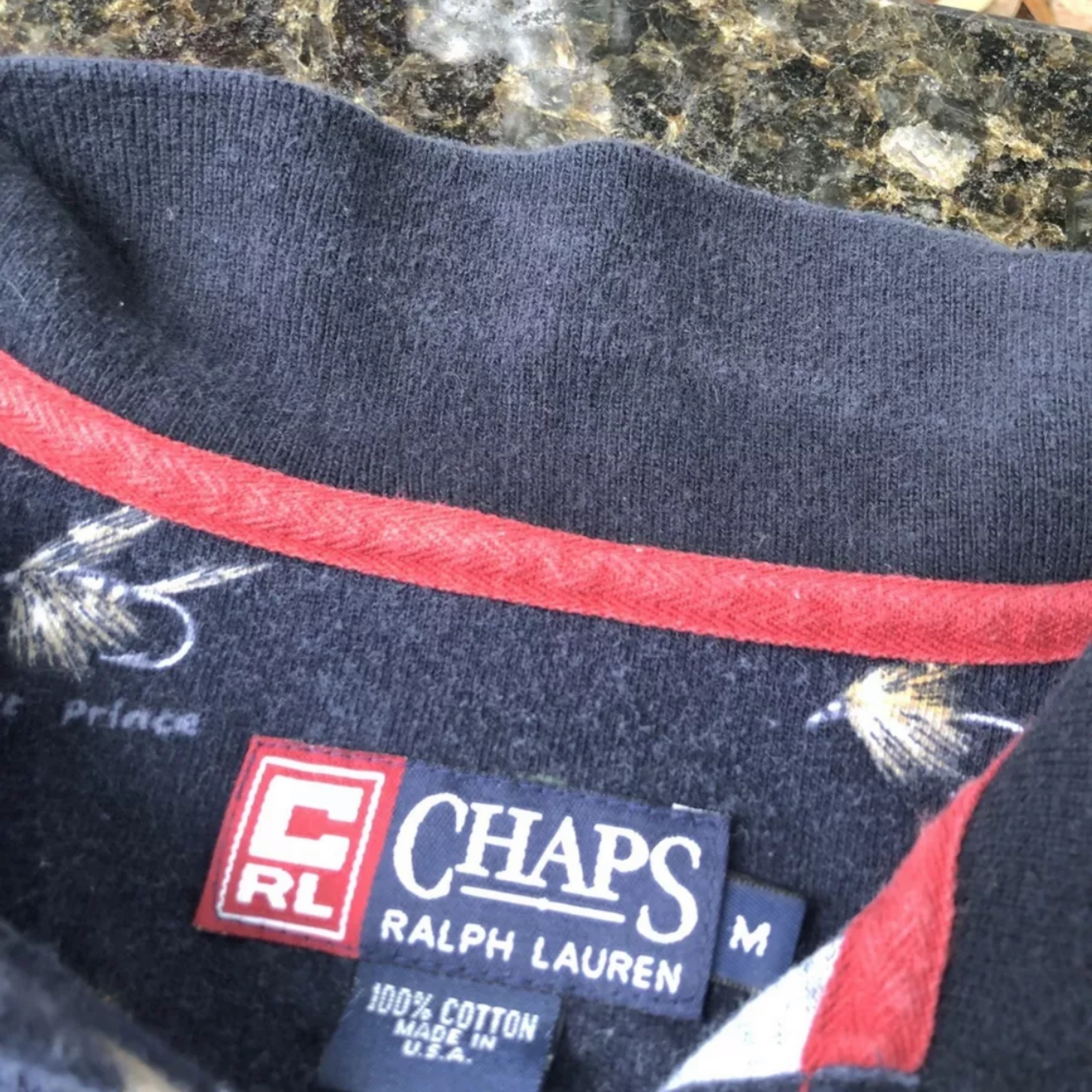 Vintage Chaps Ralph Lauren Rugby Polo Shirt