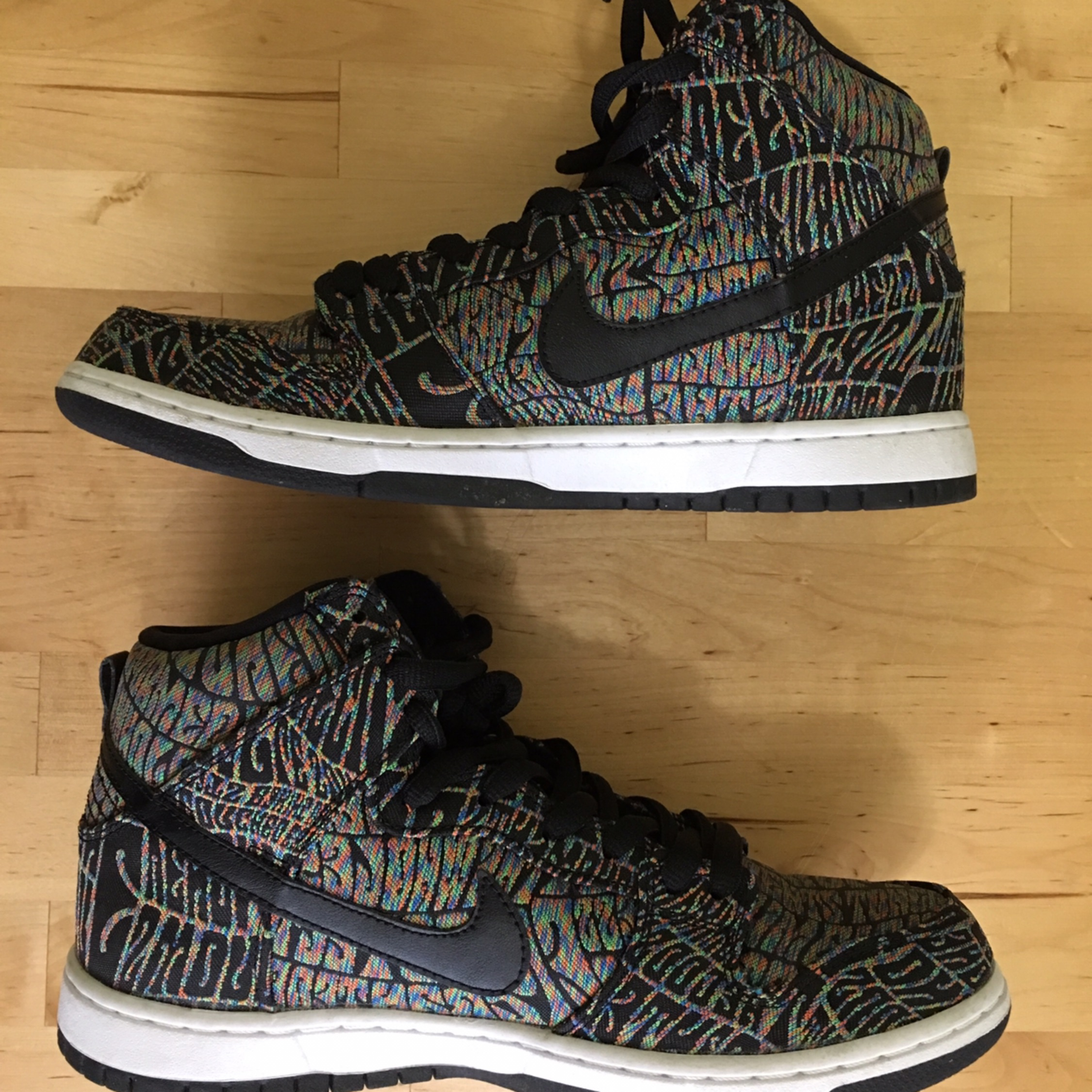 more photos 7aa9e ba087 Nike Sb Dunk High Premium 'Psychedelic'