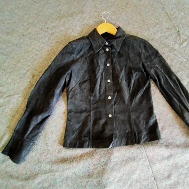 Gucci suede Leather Ladies Shirt