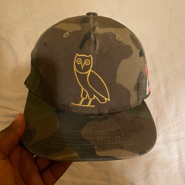 October's Very Own Ovo Camo Snapback Cap