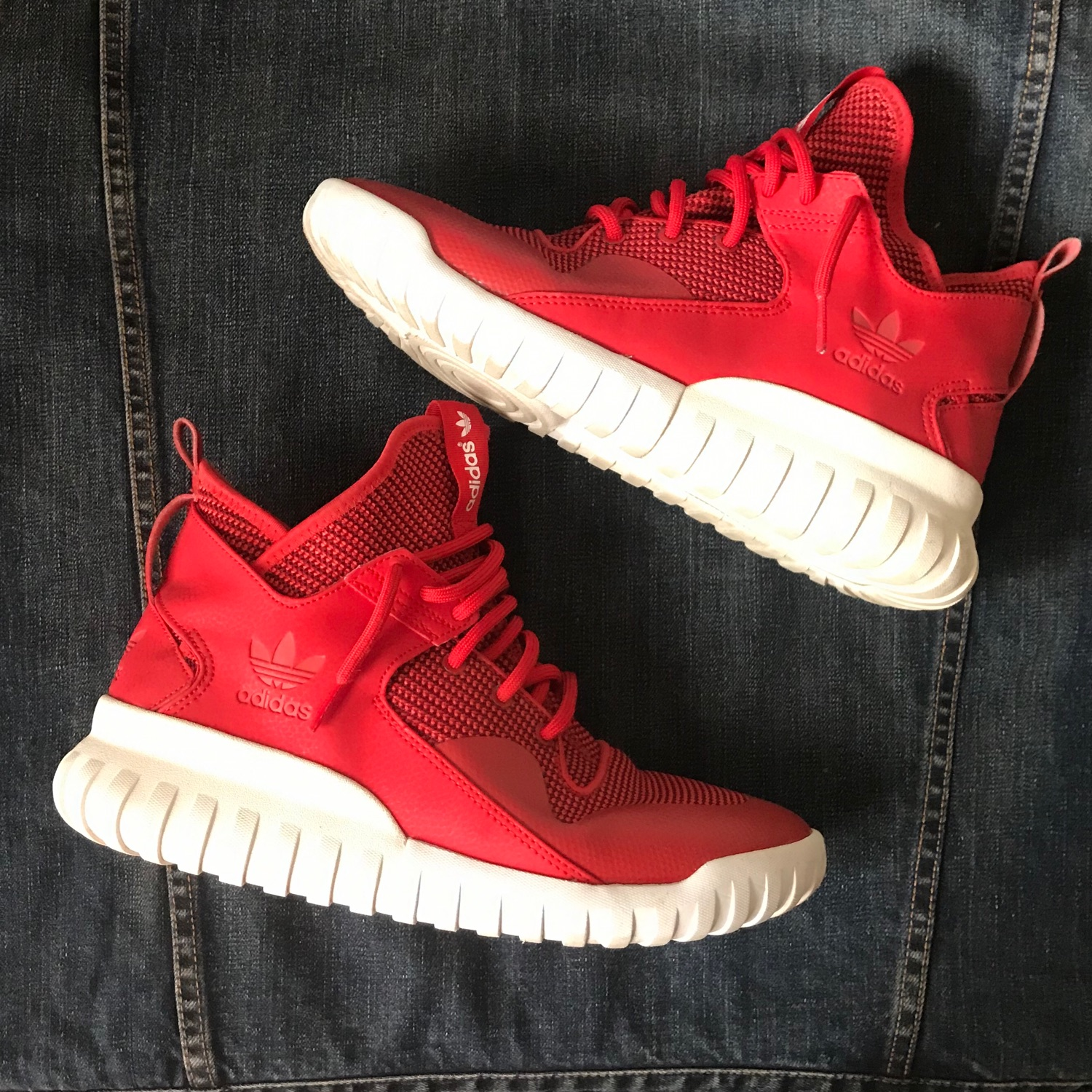 """Adidas Tubular X """"Red"""" Size 9 (Released"""