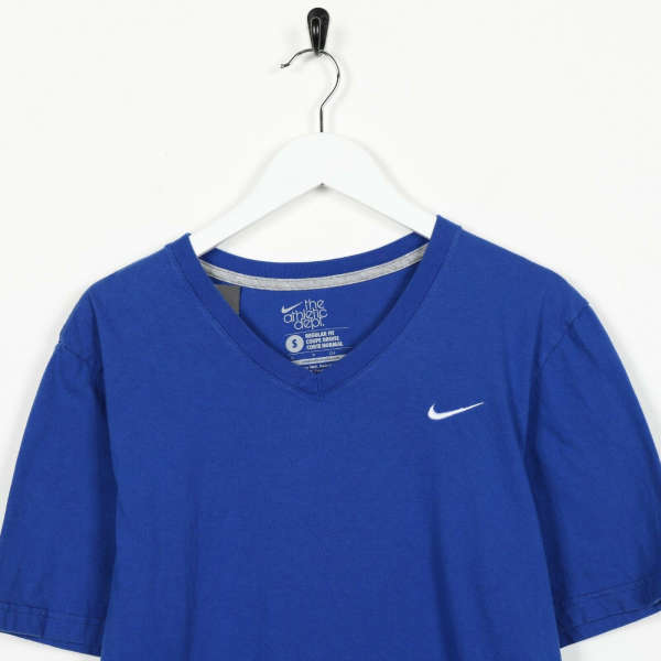 Vintage NIKE Small Logo T Shirt Tee Blue | Small S