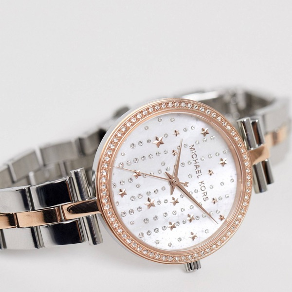 Maci Bracelet Watch In Mixed Metal