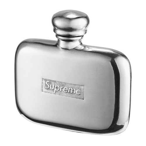 Supreme Pewter Mini Flask
