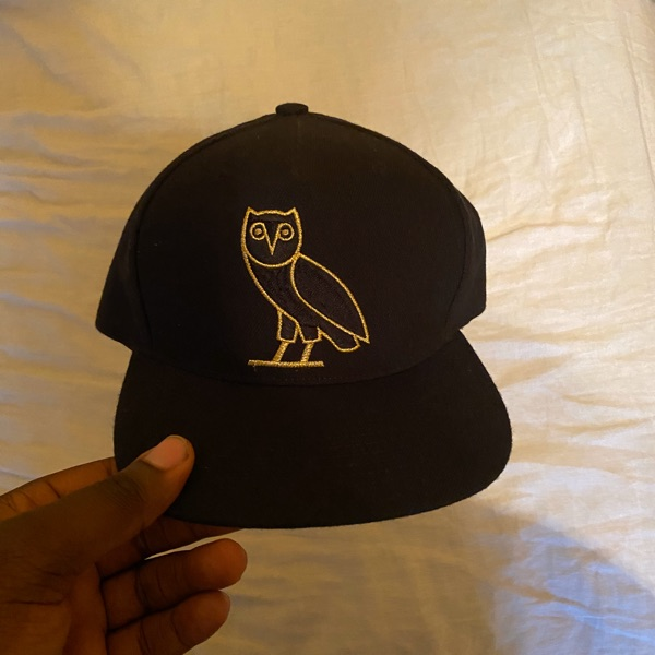 October's Very Own Ovo Owl Black Snapback Cap