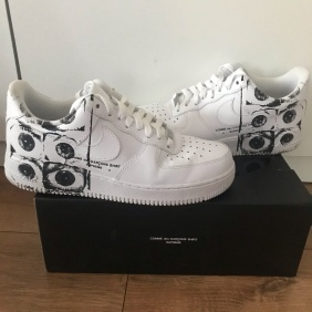 Ss17 Supreme X Nike X Cdg Air Force 1 Low
