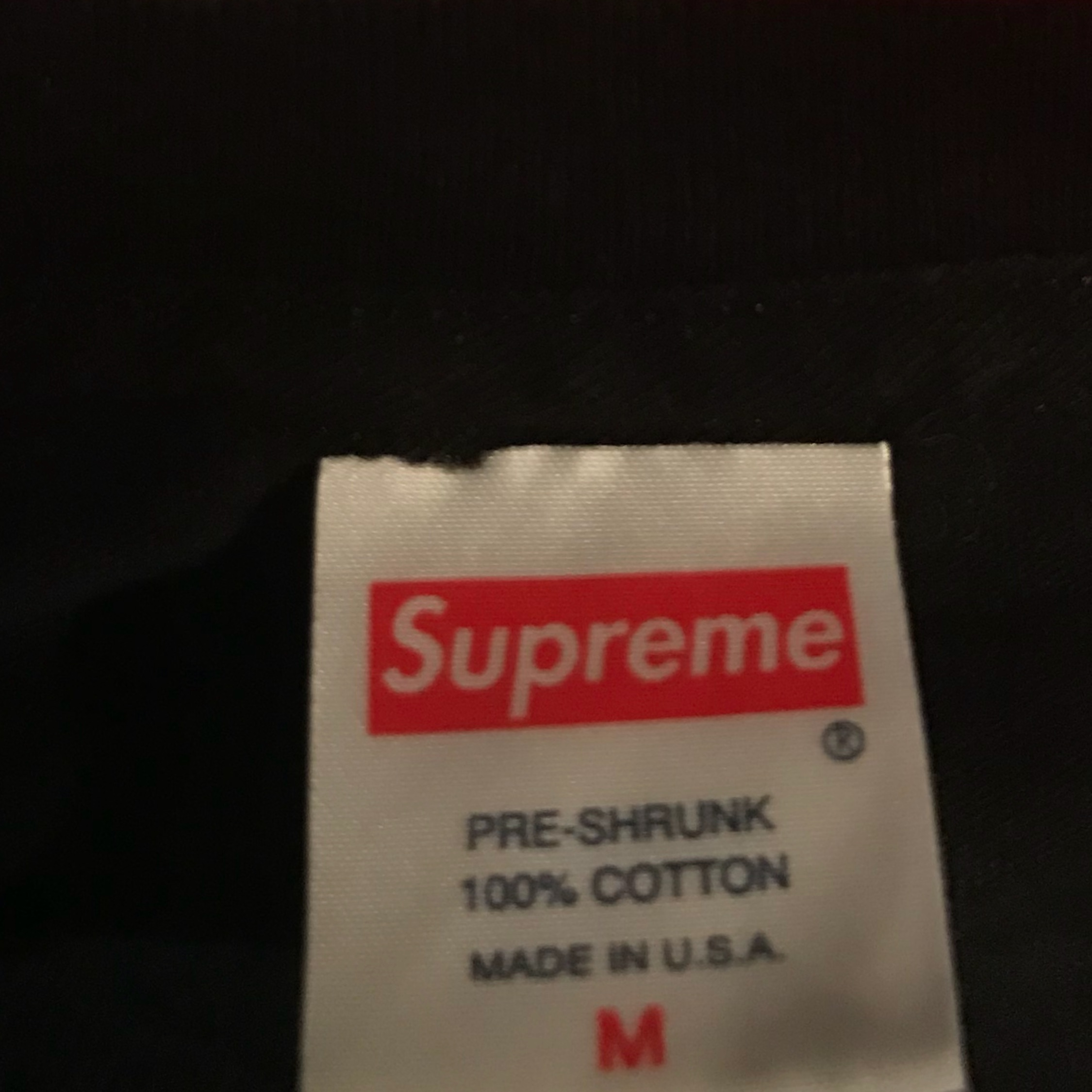Ss15 Supreme Until Your Living Tee