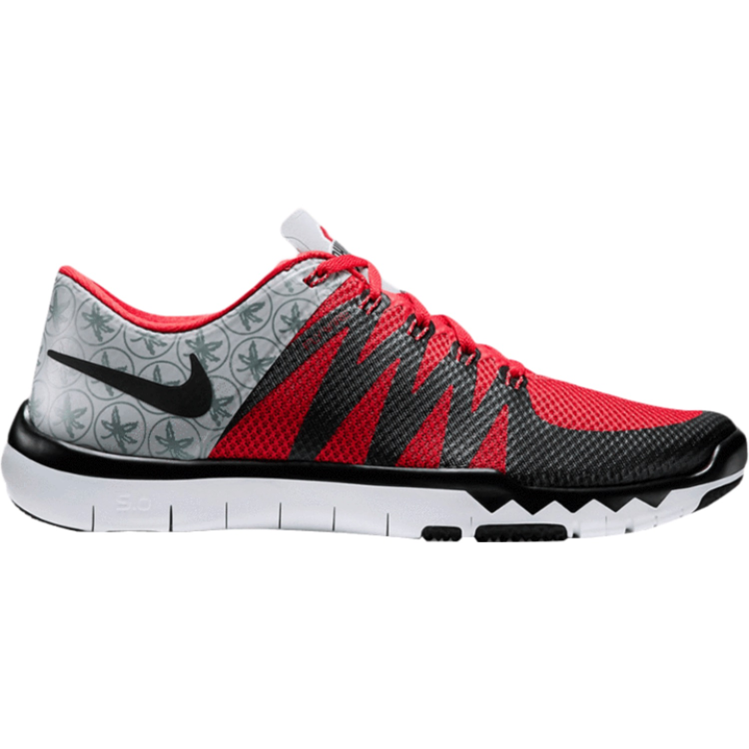 super popular b5106 74e11 Nike Free Trainer 5.0 V6 Amp Ohio State