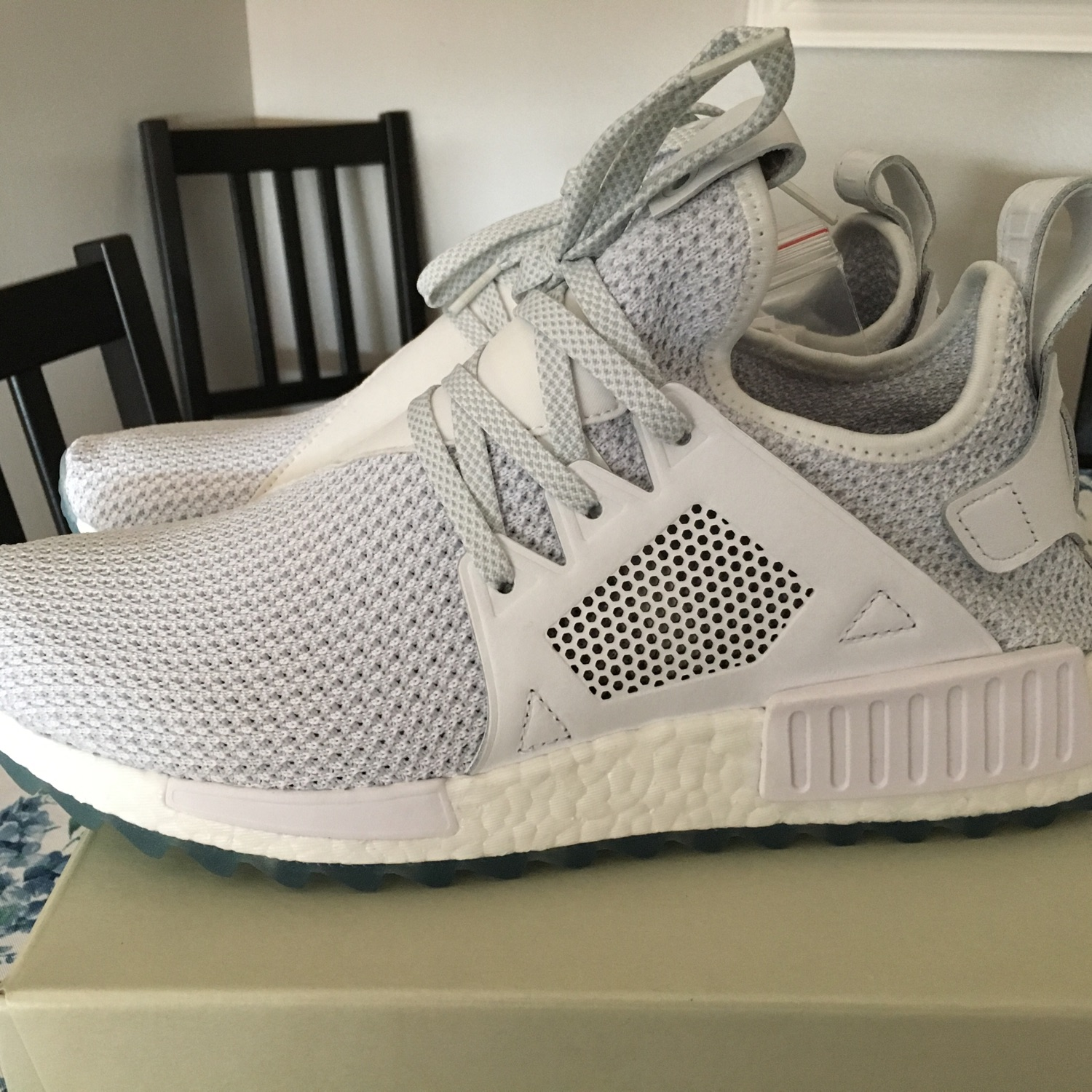on sale 206be f5db3 Adidas Nmd Xr1 Titolo White Ice Celestial Boost