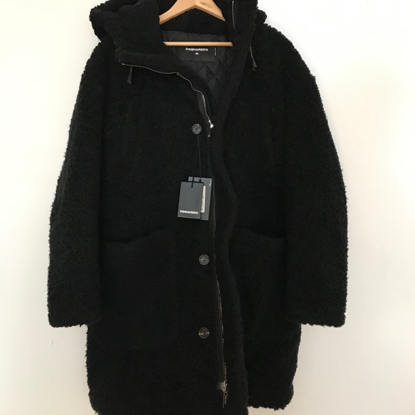 Dsquared2 Faux Shearling Coat