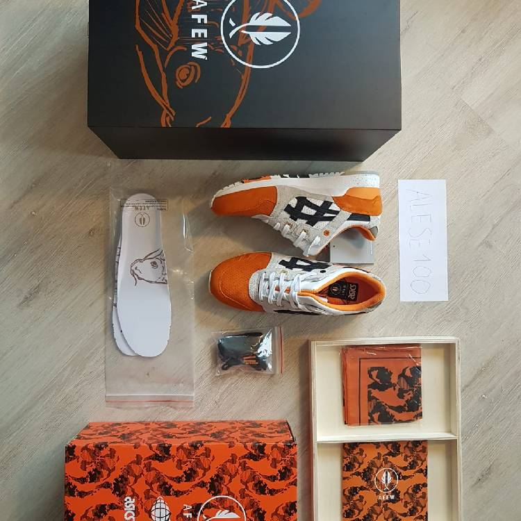 search for official exclusive deals catch Afew X Beams X Asics Gel-Lyte Iii