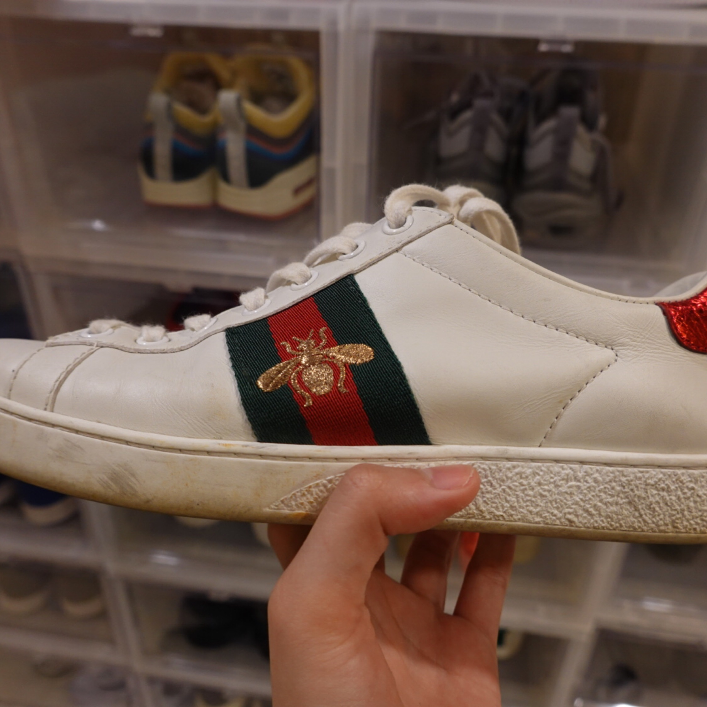 Gucci Ace Sneakers Bees