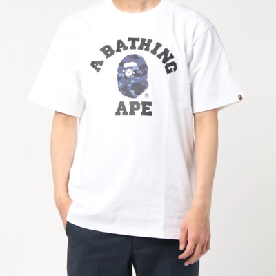 T-Shirt Bape Color Camo College