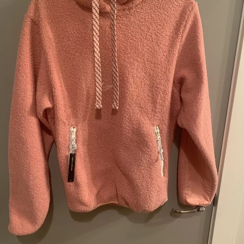 Nike Basketball City Exploration Hoodie Pink $120 XS