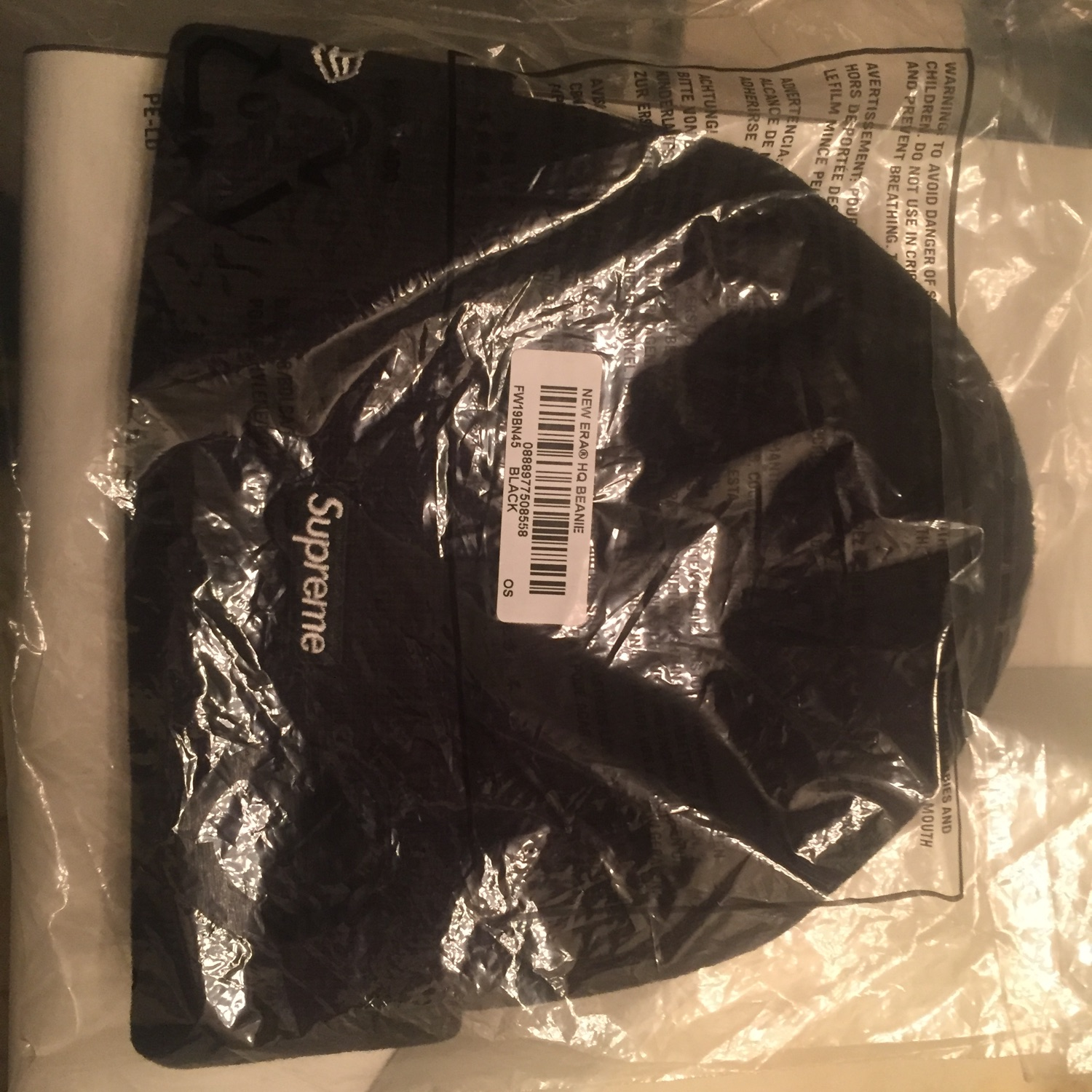 Supeme Small Box Logo Beanie