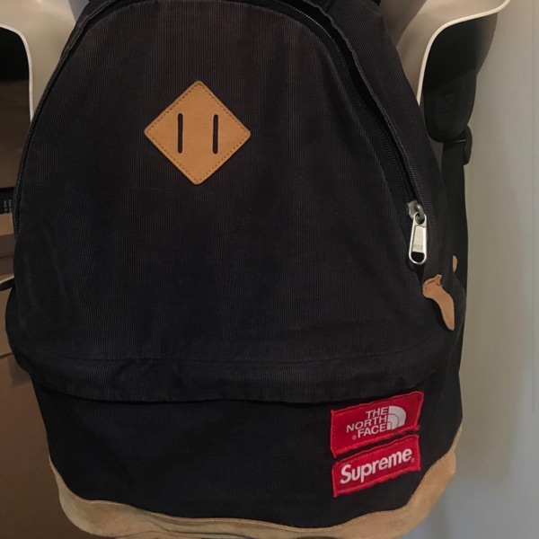 Fw12 Supreme X The North Face Cord Backpack