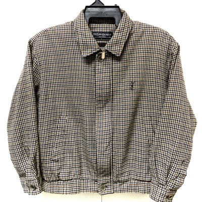 Yves Saint Laurent Pour Homme Checkered Jacket